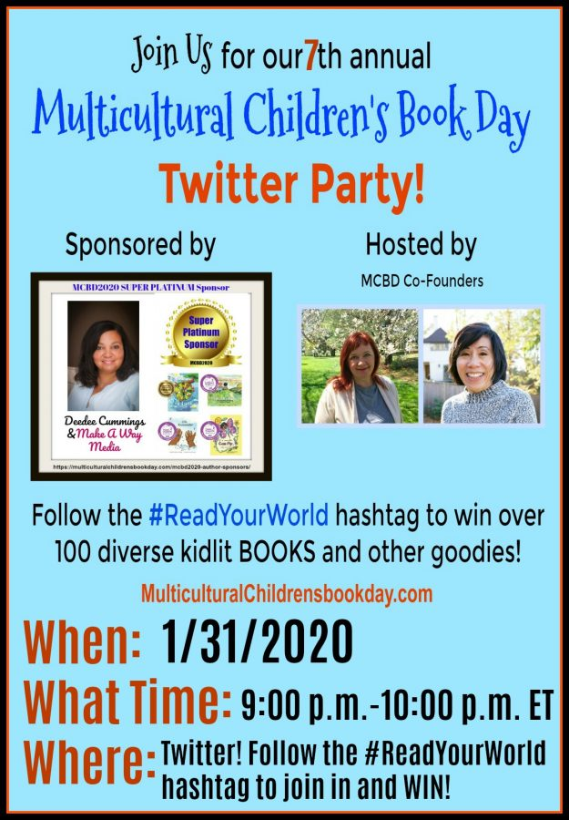 Multicultural Children's Book Day 2020 Twitter Party